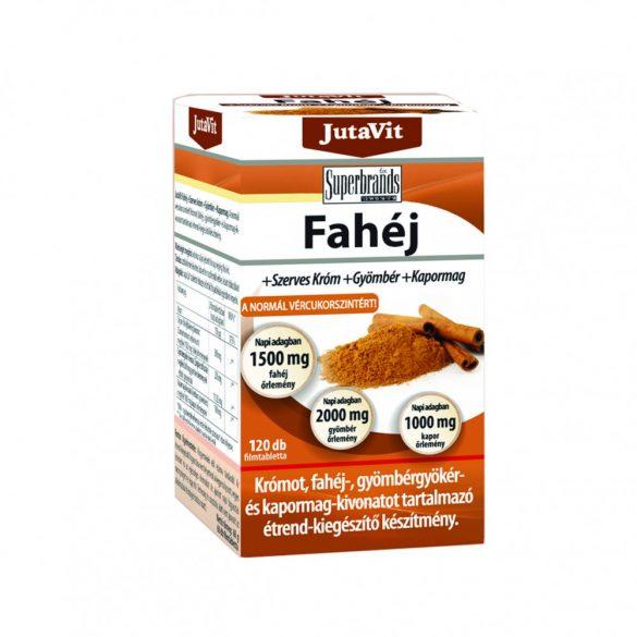 JutaVit Fahéj tabletta 120 db