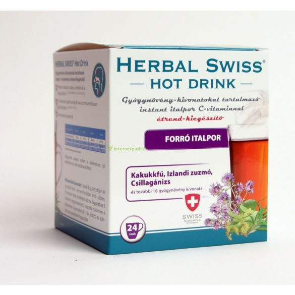 Herbal Swiss hot drink italpor 24 db