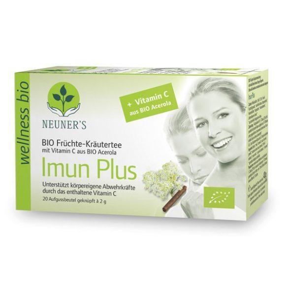 Neuner's Wellness Bio Immun Plusz tea 20db