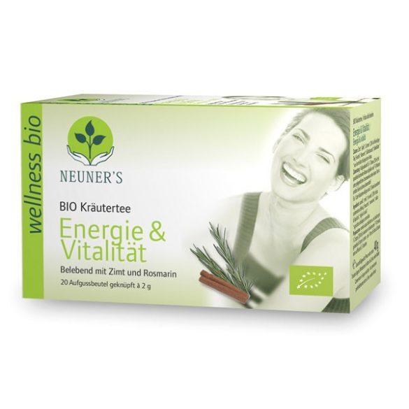 Neuner's Wellness Bio Energia és Vitalitás tea 20db