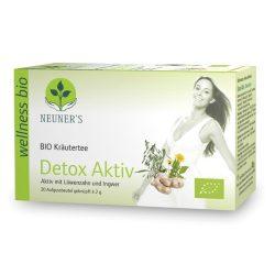 Neuner's Wellness Bio Aktív méregtelenítés tea 20db