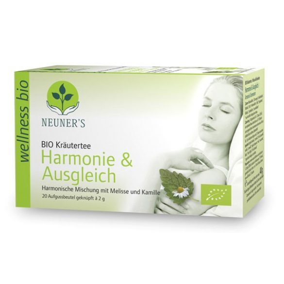 Neuner's Wellness Bio Harmónia tea 20db