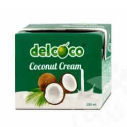 Del Coco Kókusztejszín 24% 200 ml