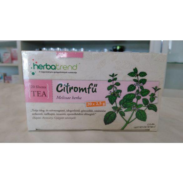 HerbaTrend Citromfű filteres 20 db