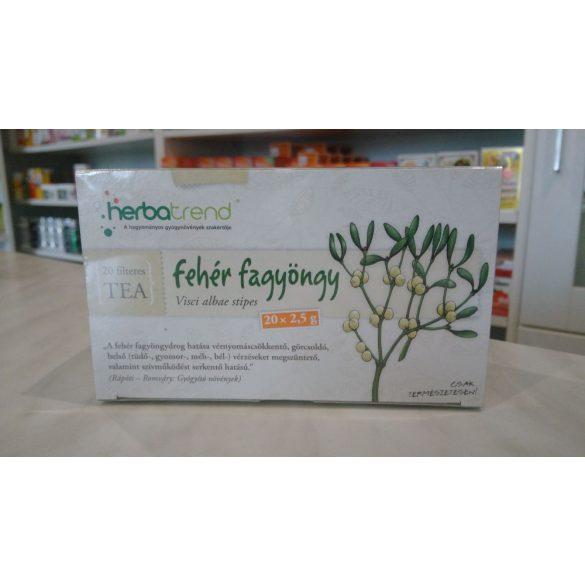 HerbaTrend Fehér fagyöngy filteres 20 db