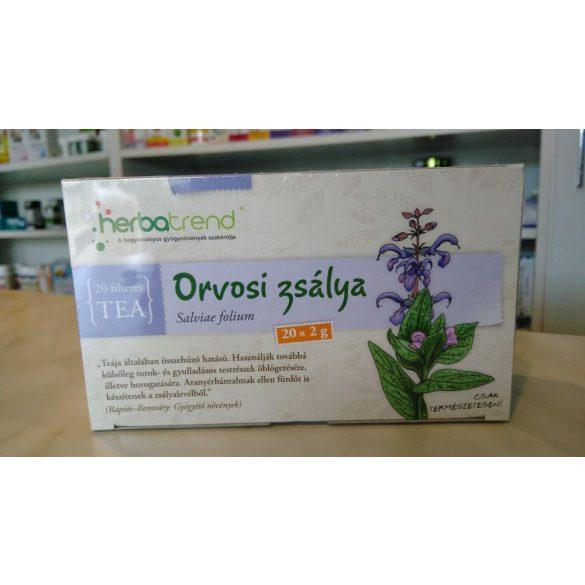 HerbaTrend Orvosi zsálya filteres 20 db