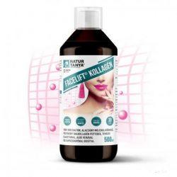 Kollagén Facelift® koncentrátum. Haj-, bőr-, köröm-és porckúra! 3000mg kollagén a napi adagban! 500 ml