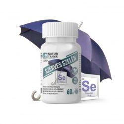 Natur Tanya® Szerves szelén - L-szelenometionin formájú, tökéletes biohasznosulású, 100mcg-os tabletta 60x