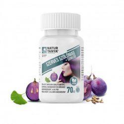Natur Tanya® Szerves Szőlőmag tabletta - standardizált 95%os OPC tartalom. Még a vér-agy gáton is átjut 70x