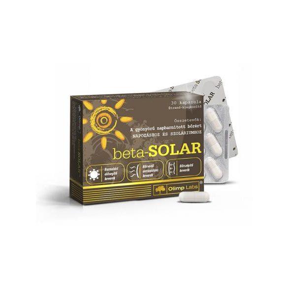 Olimp Labs® beta-SOLAR® Világszabadalommal védett bőrvitamin - Melanóma ellenes katekinekkel, 55% EGCG! 14 összetevő. 30db