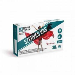 Natur Tanya® Szerves, vegán vas 30x - Világszabadalommal védett vas-biszglicinát és vérképző vitaminok