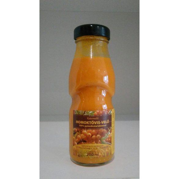 Homoktövis velő 100% gyümölcstartalommal 200 ml