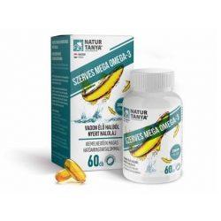 Natur Tanya® Mega Omega-3  60x - vadvízi halolaj, extra EPA és DHA tartalom