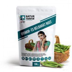 Natur Tanya® vegán gyomorbarát rost 150g - Szabadalommal védett indiai guarbabból a Monash Egyetem LOW FODMAP tanúsítványával, IBS, SIBO esetén is.