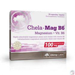 Olimp Labs® Szerves Magnézium+B6® vitamin 30x - Világszabadalommal védett, sejtszinten felszívódó hatóanyag!