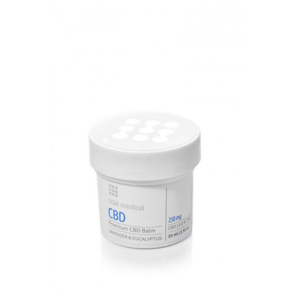 USA Medical 250 mg CBD balzsam