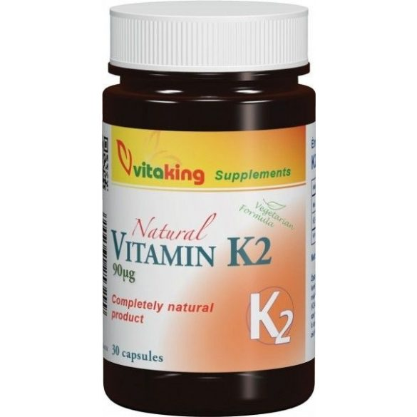 Vitaking K2-vitamin 90µg – 90x kapszula