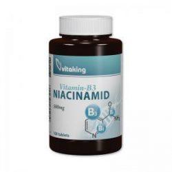 Vitaking Niacinamid (B3 vitamin) 500mg 100x