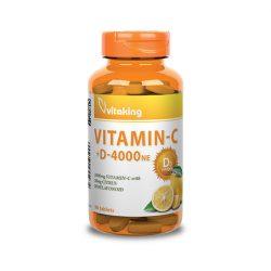 Vitaking C-1000+D-4000 komplex vitamin 90x
