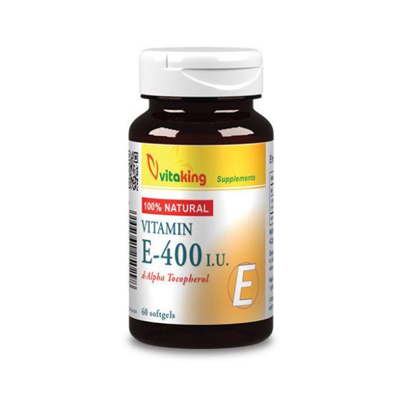Vitaking E-vitamin 400NE természetes 60x