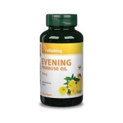 Vitaking Ligetszépe olaj 500mg 100x - hormonális egyensúly fentartására, termékenység fokozására, a szép bőrért