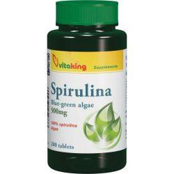 Vitaking Spirulina alga tabletta 200x