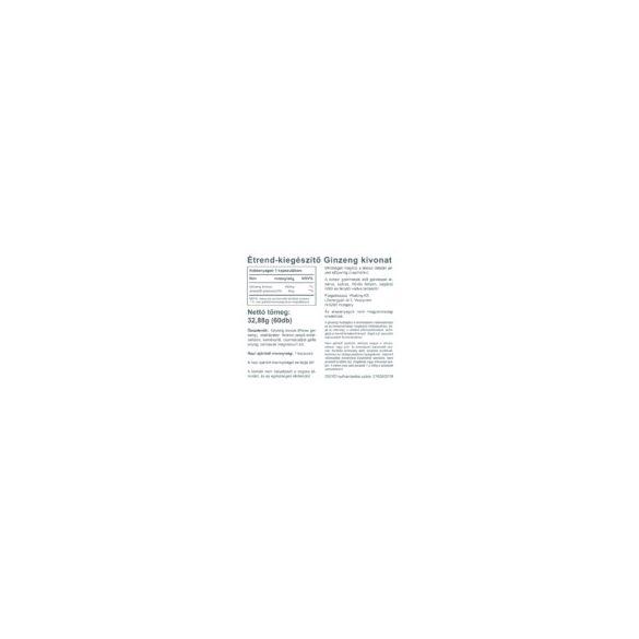 Vitaking Ginzeng kivonat 400mg 60x