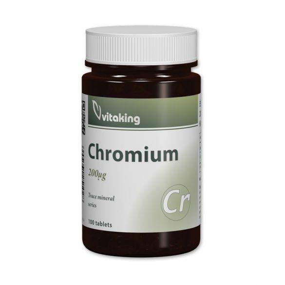 Vitaking Króm pikolinát tabletta 100x