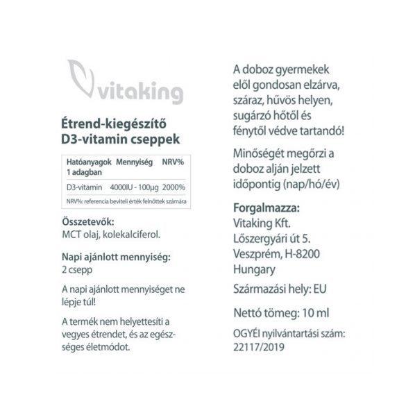 Vitaking D3 vitamin csepp 320x